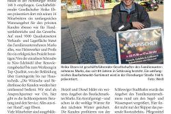 Wochenschau - Schleswiger Familienunternehmen mit Tradition und Vielseitigkeit