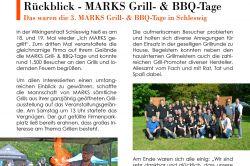 Rückblick - Das waren die 3. MARKS Grill- & BBQ-Tage
