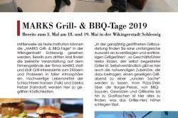 Topstory - 3. MARKS Grill- & BBQ-Tage in der Wikingerstadt Schleswig