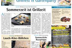 Wochenschau - 2017 - Grillfest & Gartenparty
