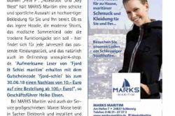 Fjord & Schlei maritim 2018 - Marks Maritim