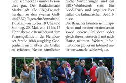 Wochenschau - MARKS 2. Grill- & BBQ-Tage
